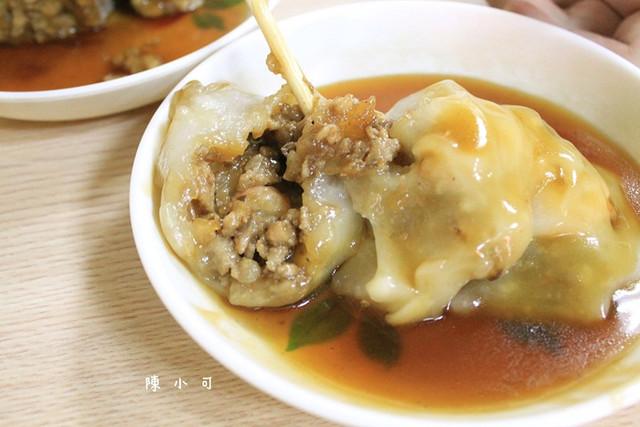 台南小吃,台南美食小吃旅遊景點,芋粿,許家蝦仁肉圓 @陳小可的吃喝玩樂