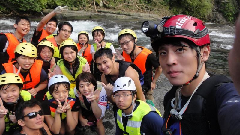 住宿,台北,基隆,旅遊,溯溪,溯溪費用,自然探索俱樂部 @陳小可的吃喝玩樂