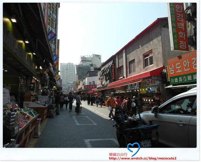 南大門手信街,韓國自助旅遊2011