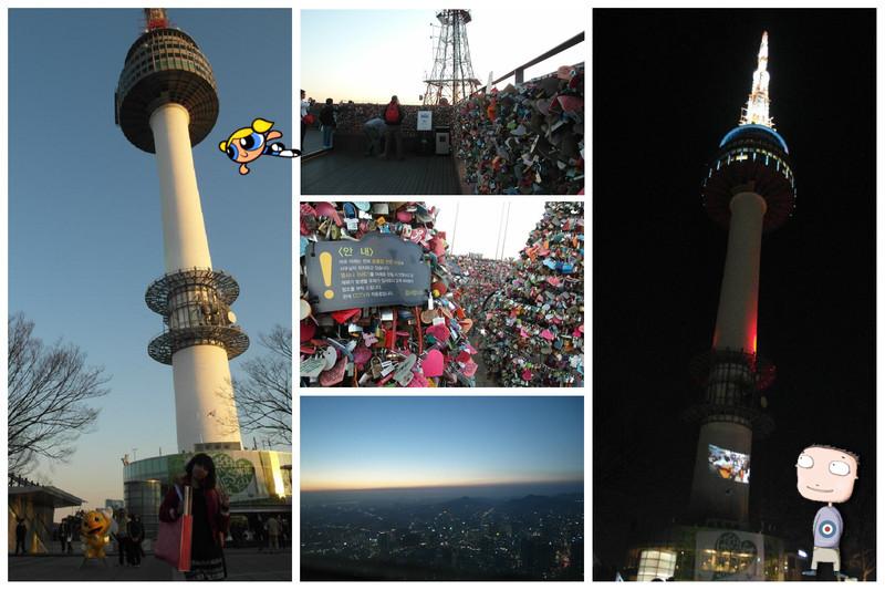 韓國必去,韓國景點,韓國自助旅遊2011,韓國自由行,韓國首爾塔