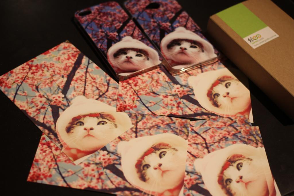 寵物明信片 自己印明信片 手機殼 紙東西印明信片