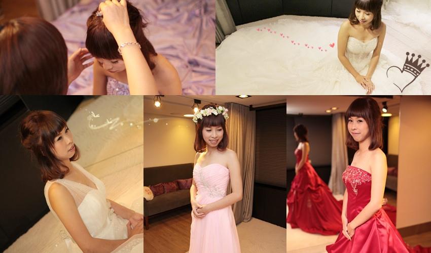 金紗夢婚紗 婚紗試穿 婚禮白紗  海外婚禮