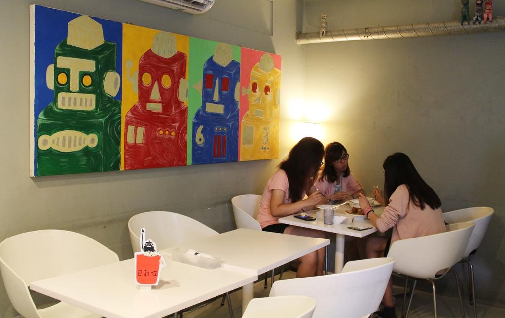 台中機器人餐廳ROBOT STATION鐵皮駅