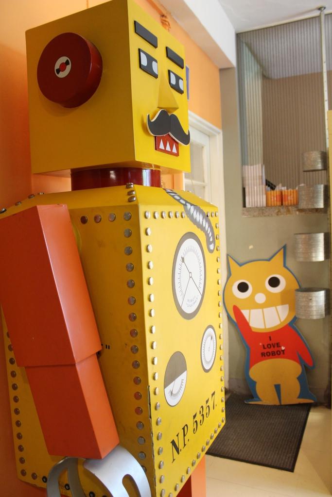 台中機器人餐廳ROBOT STATION