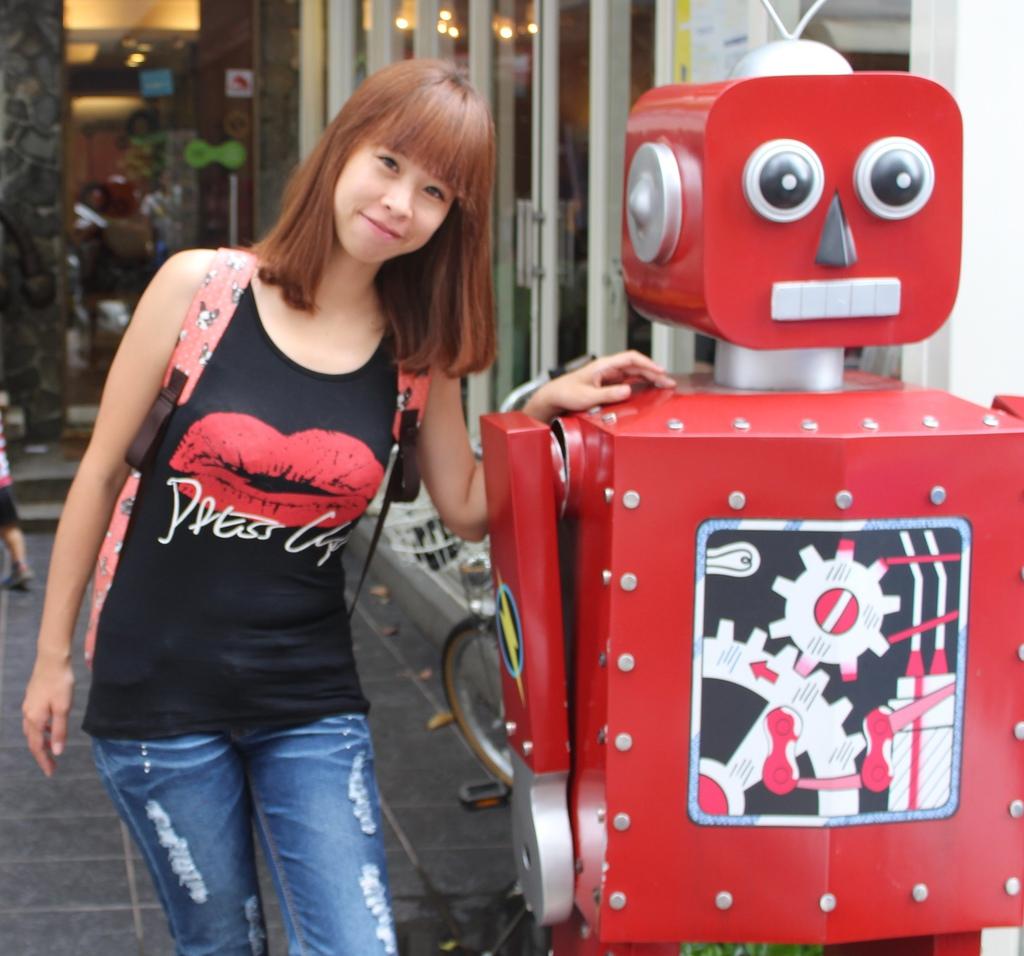 台中咖啡館,台中機器人餐廳,台中美食小吃旅遊景點,早午餐台中,鐵皮駅 @陳小可的吃喝玩樂