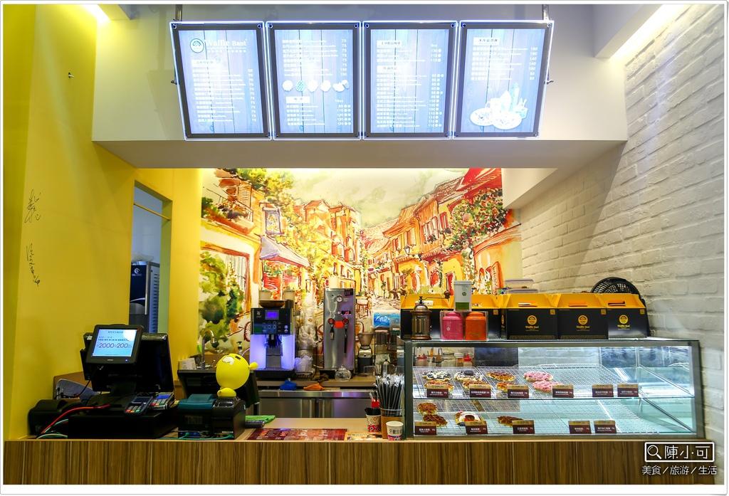 【台北信義區美食】華夫班特Waffle Bant比利時鬆餅。來自韓國的知名鬆餅店,台北新登場!(統一時代百貨)