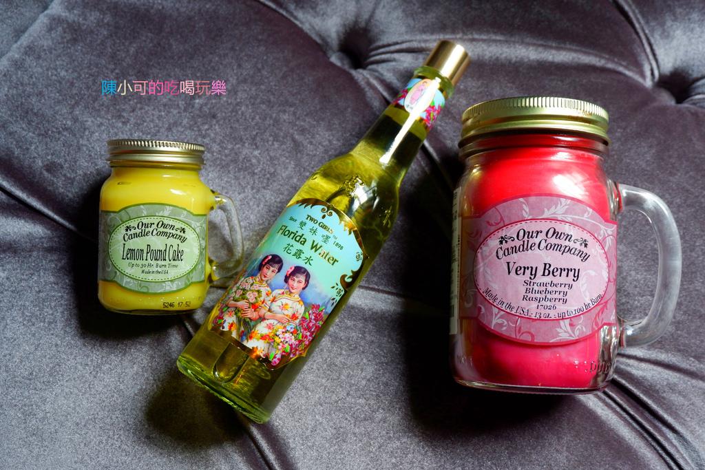 【台南】OOCC 梅森罐香氛蠟燭,超級莓果三部曲、雙妹嚜花露水,可愛又芬香的生活用品